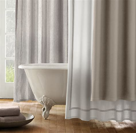 restoration hardware linen shower curtain restoration hardware shower curtains home decor pinterest