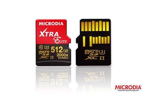 Pasaran Micro Sd microdia hadir dengan kad mikro sd sebesar 512gb berharga sekitar rm3700 amanz
