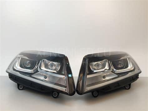 volkswagen xenon volkswagen touareg facelift lci 2014 ahl xenon headlights