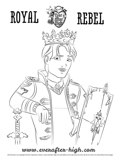 happily ever after high coloring pages free coloring pages of ever after high sheets