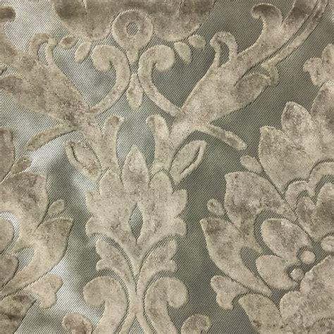 velvet drapery fabric radcliffe damask pattern lurex burnout velvet upholstery