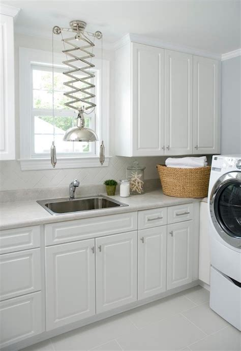 Laundry Room White Cabinets White Laundry Room Cabinets Transitional Laundry Room Liz Carroll Interiors