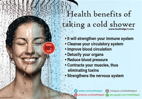 Benefits Of A Shower by Surprising Benefit Of Cold Shower Musely