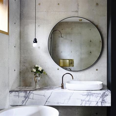 large bathroom mirror set for richly decorated walls this chic item can make any room look bigger mydomaine