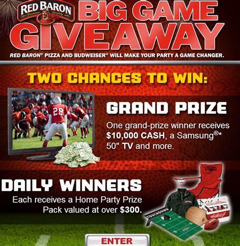Red Baron Sweepstakes - red baron big game giveaway sweepstakes mumblebee inc