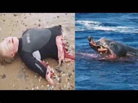 submarine shark attacks woman top 10 horrific shark attack footage caught on tape 2016