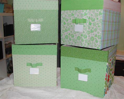 diy fabric storage boxes allcrafts  crafts update