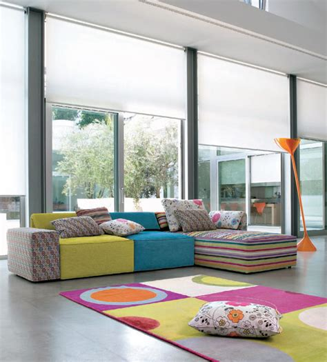 Colorful Living Room Furniture Sets Living Room Ideas With Kube Sofa Sets Idesignarch Interior Design Architecture Interior
