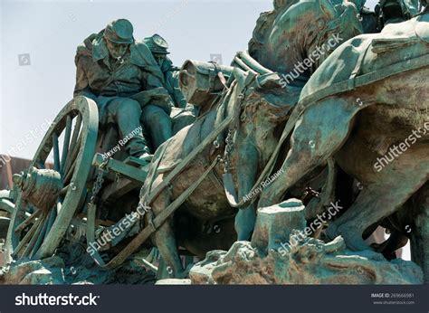 Washington Dc Civil War Cavalry Statue Near The Ulysses S Grant Memorial In Front O Washington Dc Civil War Memorial Statue Stock Photo 269666981