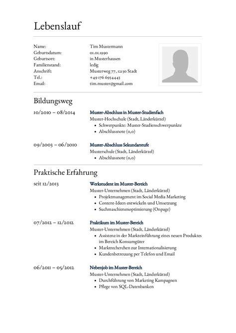 Tabellarischer Lebenslauf Referendariat bewerbungsmuster f 252 r anwaltsgehilfe lebenslauf designs