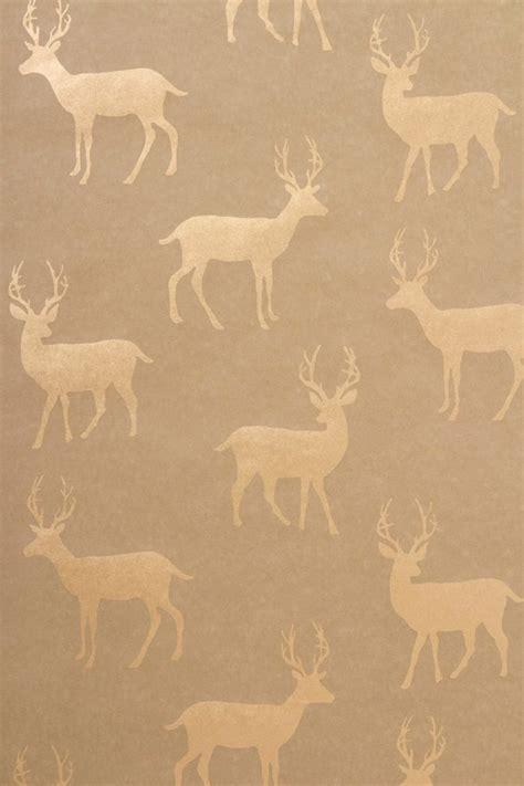 pinterest metallic wallpaper metallic stag wallpaper by anthropologie home is where