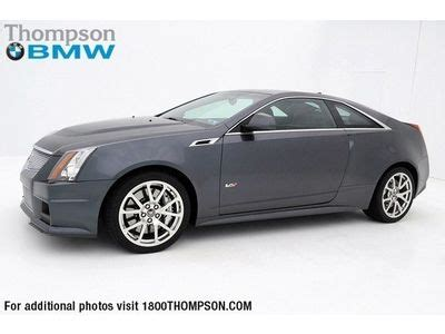 cadillac cts 6 2 l v8 buy used 2011 cadillac cts v coupe 6 2l 556 horsepower