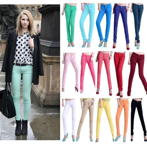 are colored jeans in style for 2015 colored skinny jeans in style 2015 hairstylegalleries com