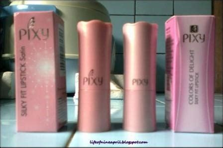 Lipstik Pixy Satin review pixy silky fit lipstik 507 315 nine april