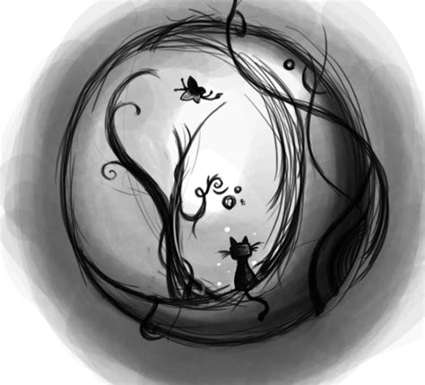 cat moon tattoo designs cat on the moon by sfragua on deviantart
