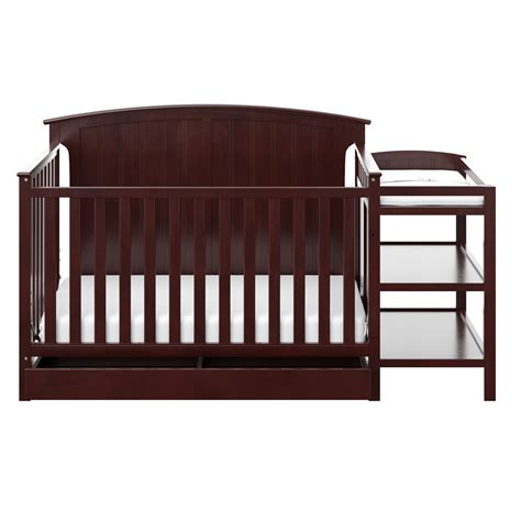 Stork Craft Crib With Changing Table Steveston 4in1 White Convertible Crib With Drawer