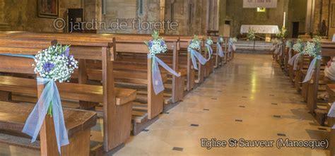 Deco Banc Eglise by Mariage En Provence D 233 Coration Florale Des Bancs De L