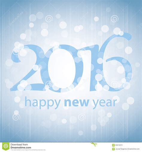 best wishes blue abstract modern style happy new year