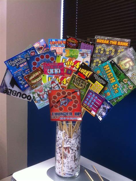Cool Housewarming Gifts Basket Idea Scratch Off Lottery Tickets Basket Ideas