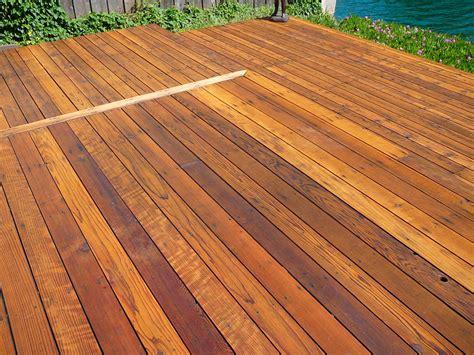 natural redwood deck cal preserving