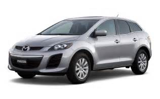 mazda cx 7 car on the road wallpapers and images
