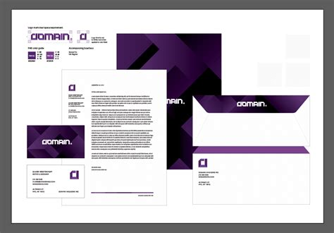 logo   Double sided letterhead design with heavy ink