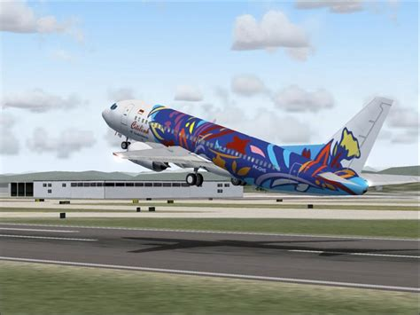 citilink garuda citilink boeing 737 300 for fs2004