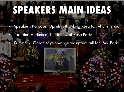 oprah winfrey eulogy for rosa parks rosa parks eulogy by hannah walker
