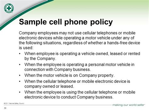 mobile phone policy template employee cell phone policy template pccc us