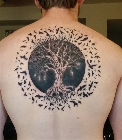 design for life tattoo 50 stunning tree of designs creativefan