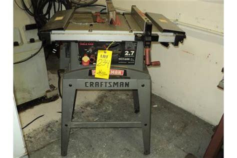 craftsman 137 table saw craftsman table saw model 137 248480 s n row4110