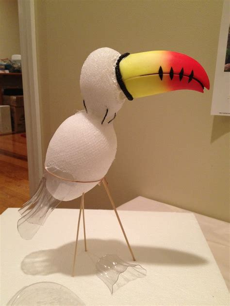 How To Make A Duck Beak Out Of Paper - form for paper m 226 ch 233 toucan is two styrofoam balls