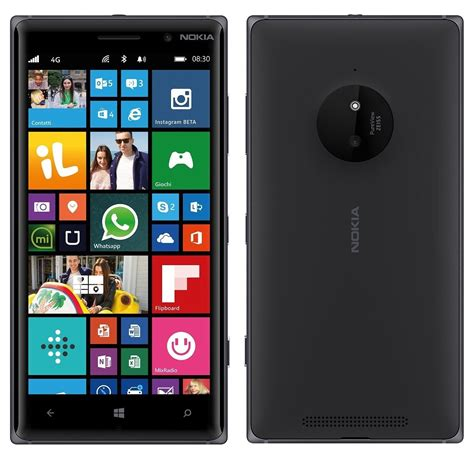 nokia lumia 830 4g lte bluetooth windows 8 phone