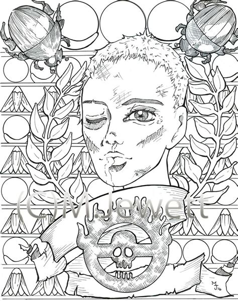 Mad Max Coloring Pages