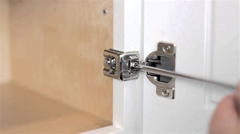 How To Adjust Hinges On Kitchen Cabinets Adjusting Kitchens By Foremost Soft Door Hinges