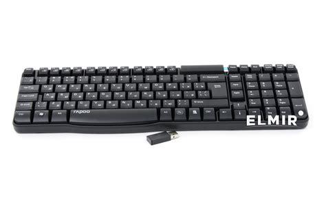 Rapoo Wireless Keyboard E1050 rapoo e1050 wireless black
