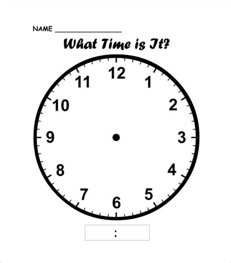 printable clock face download 17 best images about maths on pinterest addition games