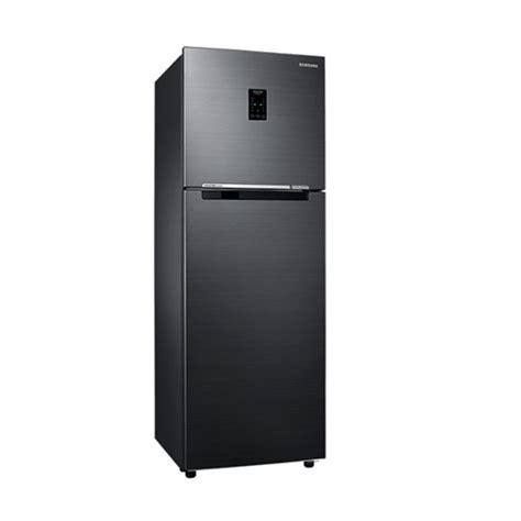 Kulkas Samsung Hitam jual samsung kulkas two doors 460 l rt46k6231bs hitam