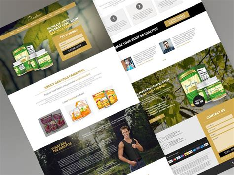 20 new gorgeous free psd website templates 推酷