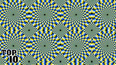 ilusiones opticas top 10 top 10 optical illusions that will hurt your brain youtube