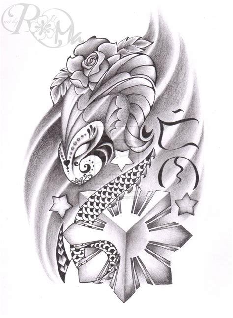 filipino flower tattoo designs 16 designs