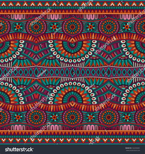 tribal ethnic pattern abstract vector tribal ethnic background seamless pattern