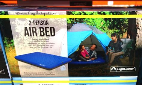 costco air bed costco lightspeed 2 person air bed 39 99 frugal hotspot