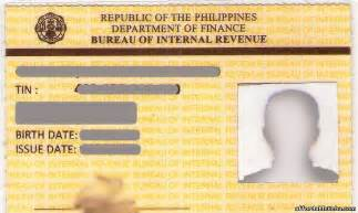 Certification Letter For Tin Number Top 31 Valid Id S Required In The Philippines Philippine