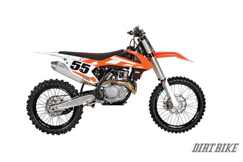 Ktm 450 Dirt Bike Dirt Bike Magazine 2016 Ktm 450sx Test