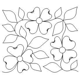 coloring pages of dogwood flowers 5661 best quilting images on quilt patterns