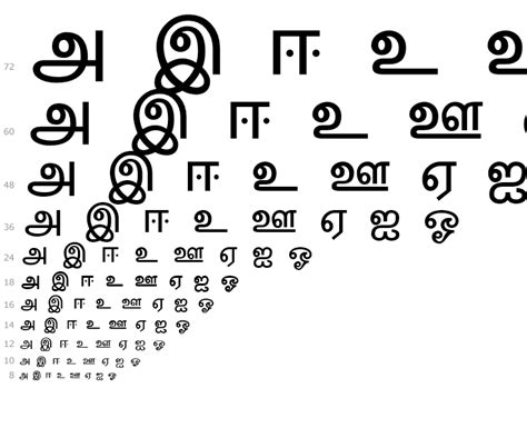 Letter In Tamil Font latha family tamil fonts fonts