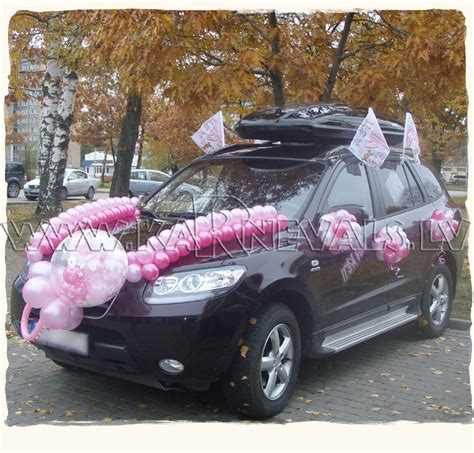 Cars Decorations by Newborn S Car Balloon Decoration Car Decoration
