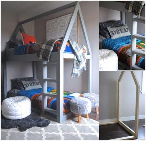 cool diy bunk bed designs  kids