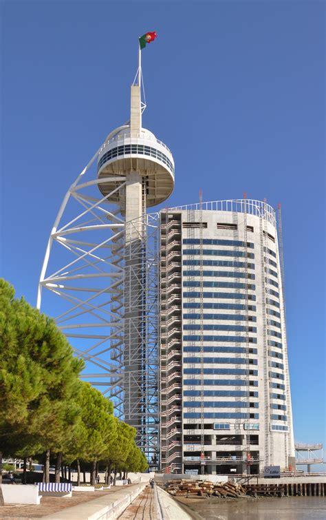 vasco da gama portugal file lisbon vasco da gama tower jpg wikimedia commons